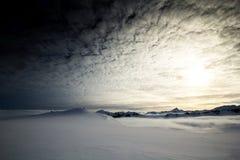Mola ártica em Spitsbergen sul Fotos de Stock