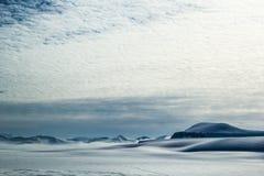 Mola ártica em Spitsbergen sul Fotografia de Stock