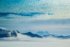 Mola ártica em Spitsbergen sul Imagem de Stock Royalty Free