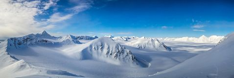 Mola ártica em Spitsbergen sul Foto de Stock Royalty Free