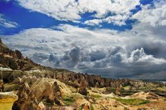 Mola adiantada em Cappadocia Turquia imagens de stock