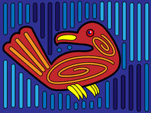 Mola Bird Design Stock Photography