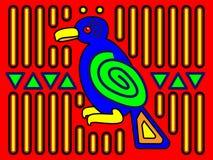 Mola Bird Design Royalty Free Stock Photo