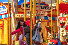Mola 39 Carousel Obrazy Stock