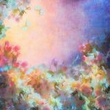 Mola Cherry Blossom Imagem de Stock