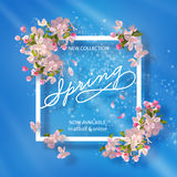 Mola Cherry Blossom Imagens de Stock Royalty Free