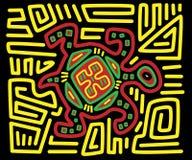 Mola de la tortuga Imagen de archivo libre de regalías