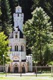 Mola de Sentinela em Vatra Dornei, Romênia Fotografia de Stock Royalty Free