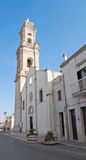 Mola di Bari church. Apulia. Royalty Free Stock Image