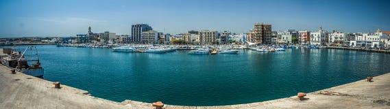 Mola di Bari's harbor Stock Photos