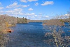 Mola do lago Fotos de Stock Royalty Free