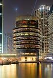 Mola 7 Dubai marina budynek Zdjęcia Royalty Free