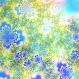 A mola e o fundo abstrato das cores do verão projetam o molde Fotos de Stock