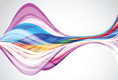 A mola e o fundo frescos abstratos das cores do verão projetam Imagens de Stock