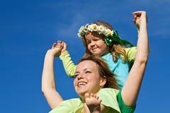 A mola e o verão estão aqui outra vez Imagem de Stock Royalty Free