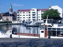 Mola em Silkeborg, Dinamarca Fotografia de Stock Royalty Free