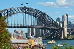 Mola em Sydney New South Wales Australia imagem de stock