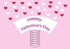 Mola feliz dos Valentim Imagens de Stock