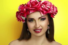 A mola floresce o dia da mulher Foto de Stock Royalty Free