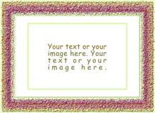 Mola, frames de lãs Fotografia de Stock Royalty Free