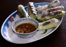 Mola fresca vietnamiana Rolls imagem de stock royalty free