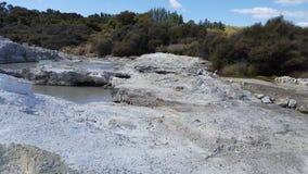 Mola geotérmica NZ Imagens de Stock Royalty Free
