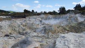 Mola geotérmica NZ Imagem de Stock