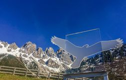 Mola nas montanhas de Áustria Fotos de Stock