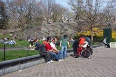 Mola no Central Park Imagem de Stock Royalty Free
