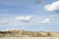 Mola no deserto Fotografia de Stock