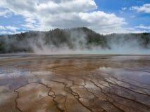 Mola prism?tico grande Parque nacional de Yellowstone fotografia de stock royalty free