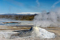 Mola quente de Hveravellir em Islândia Foto de Stock Royalty Free