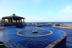 Mola quente de Jhaorih, ilha verde, Taiwan imagem de stock