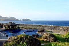 Mola quente de Jhaorih, ilha verde, Taiwan Imagens de Stock Royalty Free