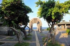 Mola quente de Jhaorih, ilha verde, Taiwan Fotos de Stock Royalty Free