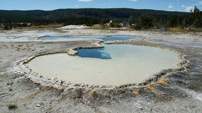 Mola quente em Yellowstone Foto de Stock Royalty Free