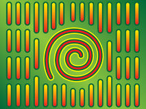mola spirali ilustracja wektor