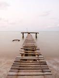 mola stary morze Obrazy Royalty Free