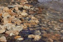 Mola, stoun & água fotografia de stock