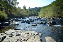 Molalla-Fluss Stockfotos