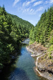 Molalla River. In western Oregon Stock Images