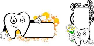 Molar dental cartoon copyspace7. Molar dental cartoon copyspace in vector format very easy to edit Stock Photo