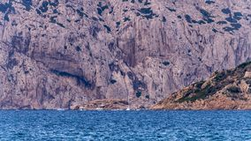 Molara basen w Sardinia obraz stock