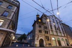 Molard Tower in Geneva Royalty Free Stock Images