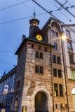Molard Tower in Geneva Stock Image
