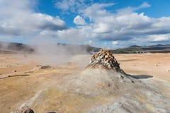 Molas da fumarola de Islândia Fotografia de Stock Royalty Free