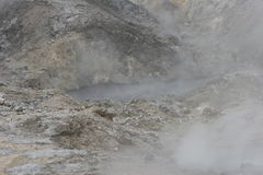 Molas do enxôfre, St Lucia Fotos de Stock