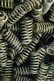 Molas do metal Imagens de Stock Royalty Free