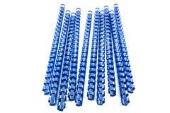 Molas obrigatórias azuis Fotografia de Stock