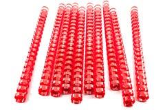 Molas obrigatórias vermelhas Fotos de Stock Royalty Free